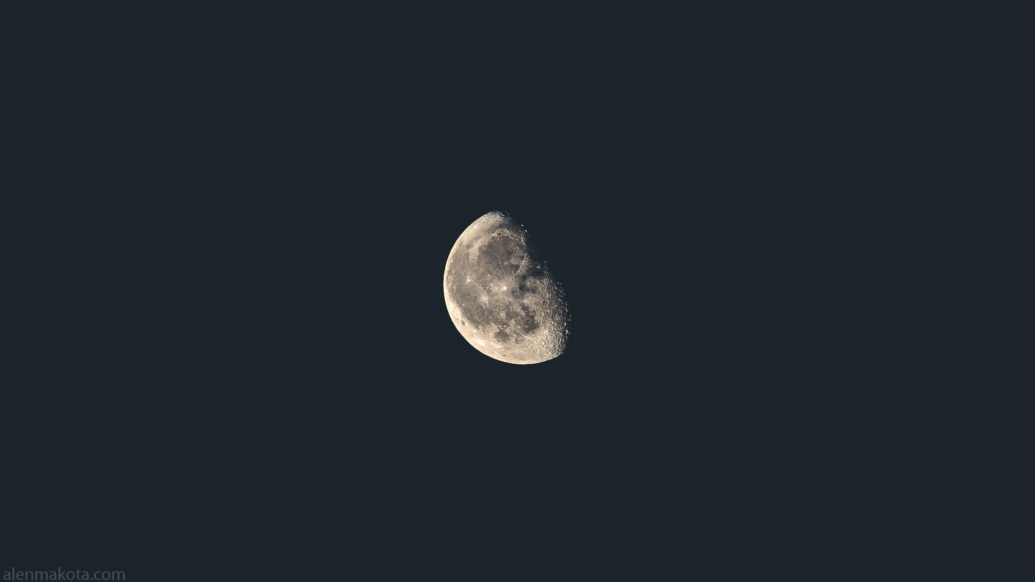 Almost Half Moon