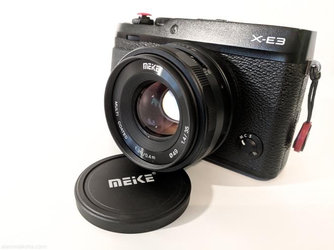 Meike 35mm f1.4 on Fujifilm X-E3